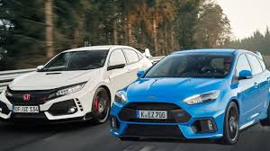 2018 ford focus rs. unique 2018 2018 honda civic type r vs ford focus rs limited edition  ivtec vs  ecoboost on ford focus rs