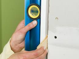 install the door hardware