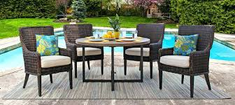 ebel outdoor furniture dreux patio dining wicker