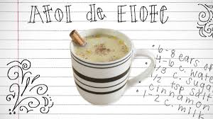 students serve up stories of beloved family recipes in a global atole de elote is a warm corn drink from central america student jose rivas wrote