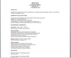 Beautician Resume Template