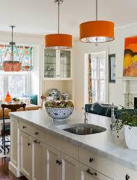 orange drum pendant