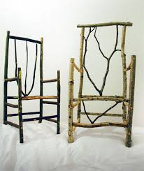 making rustic furniture. Greenwood Furniture Making: Recently Cut Wood That Still Contains Sap. Making Rustic O