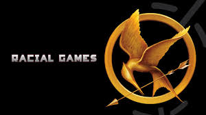 suzanne collins s book the hunger games deals with a dystopian society and takes place in the fictional nation of panem panem most likely derived from