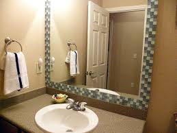 Idea Frame Bathroom Mirror Or Perfect Stone Framed Bathroom Mirrors