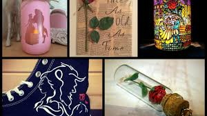 beauty and the beast crafts ideas