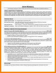 8 Computer Repair Technician Resume Letter Signature