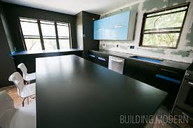do it yourself concrete countertops installed