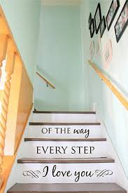 Stairs Quotes Interesting Amazon Stair Decal Staircase Ideas Stairway Ideas Stairs