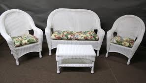 home decoration enchanting fl cushions design for white lounge wicker furniture cushion for wicker