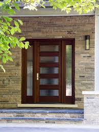 Small Picture Doors Designs Contemporary Wooden Front Door With Glass Designs