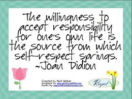 best joan didion images writers author and  the willingness to accept responsibility for our own life is the source from which self respect springs joan didion author usa