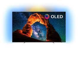 Ultraflacher 4K UHD OLED Android TV 65OLED803/12