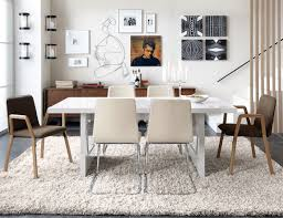 elegant bright interior decoration ideas inspiration dining room with affordable modern furnitre with minimalist design