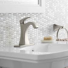 maxton bathroom faucet 1 handle brushed nickel