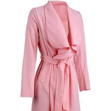 newest trench coat women fashion pockets long sleeve large sizes female long trench coat with belt hot
