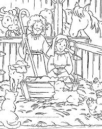 Small Picture Printable Religious Christmas Coloring Pages Best Celebration Day