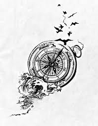 Compass Tattoo Más тату морское тату эскиз тату и искусство тату