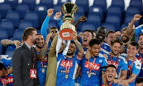Juve manager maurizio sarri goes up against his former club. Napoli Win The Coppa Italia Final With Victory On Penalties Against Juventus Football Addict