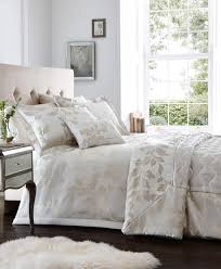pablo ivory jacquard duvet cover set king