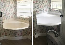 Refinish Bathroom Countertop Bathroom Countertop Refinishing A Budget Friendly Bathroom Update