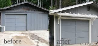 garage door arborTrellis Tops Garage Door and Gives It Instant Interest