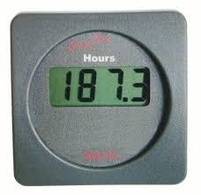 cruzpro eh55 simple digital engine hours and elapsed time gauge eh55 digital engine hours gauge