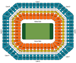 Stadium Seating Chart Super Bowl Sales Com Super Bowl Tickets And Packages For