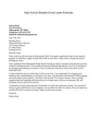 Student Cover Letter Resume Badak