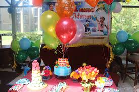 Small Picture Manjus Eating Delights A Rainbow Birthday PartyManav turns 1