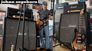 Bass VI into Marshall 4x15 - YouTube