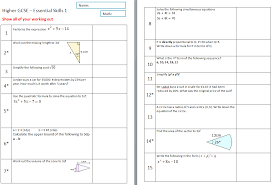 Ideas About Gcse Maths Revision Worksheets Higher, - Easy ...