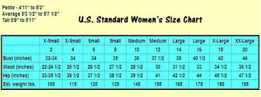 Image Result For Measurement Chart Body Us Sizing Dress