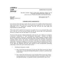 Agreement Letters Unique Cohabitation Agreement 48 Free Templates Forms Template Lab