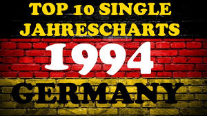 Top 10 Single Jahrescharts Deutschland 1994 Year End Single Charts Germany Chartexpress