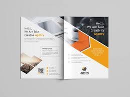 brochure template versatile professional bi fold brochure template 5 template catalog