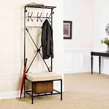 For Living Coat Rack Amazing Coat Rack Bench Entryway Storage Benches And Coat Racks At 87