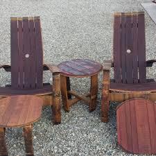 wine barrel outdoor furniture. Set Of 5 Oak Red Wine Barrel Outdoor Furniture