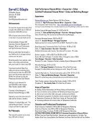 24 Resume Services Portland Oregon E Cide Com