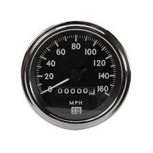 stewart warner 82170 deluxe tachometer electric 3 3 8 inch stewart warner 550bp d deluxe speedometer mechanical 3 3 8 inch
