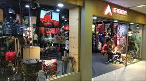Anda bisa membeli produk yang sesuai dengan kebutuhan di toko eigerindo yang tersebar hampir di seluruh wilayah di indonesia atau melalui official store eiger yang ada. Eiger Perlengkapan Outdoor Terlengkap Level 21 Mall Bali Indonesia Gotomalls