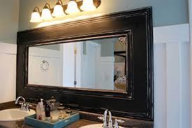 diy bathroom mirror frame. Frame A Bathroom Mirror Diy