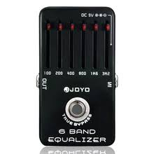 <b>EQ Equalizer 6 Band Guitar</b> Effect Pedal True Bypass Joyo JF 11 ...