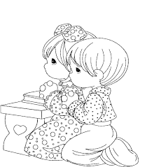 Small Picture Children Praying Coloring Page Coloring Home