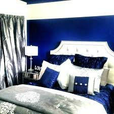 royal blue and gold bedroom decor