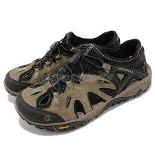 Size Chart Merrell Shoes Details About Merrell All Out Blaze Sieve Brown Black Men Slip On Outdoors Hiking Shoes J12645