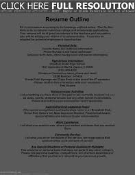 Resume Empty Format Luxury Best Student Resumes For Scholarships