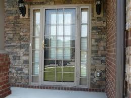 single patio door ideas