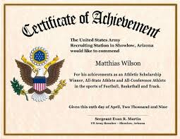 Certificate Border Word Stunning Blank Army Certificate Of Achievement Template Example 48