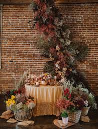 Floral Design Kansas City When A Florist Weds A Dried Floral Wonderland Of Warm Color